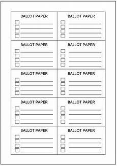 Voting Ballot Template For Word Voting Ballot Template Google Docs Merry Christmas