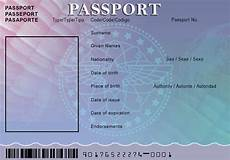 Passport Template Download Passport Templates Word Excel Pdf Formats