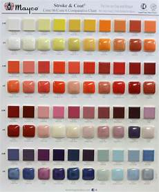 Mayco Crystalites Color Chart Mayco Stroke And Coat Comparative Charts Cone 06 And Cone6