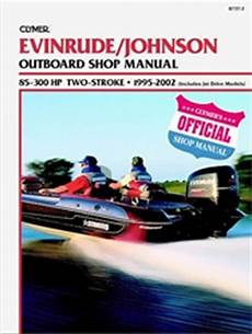 Evinrude Johnson Outboard Manual Service Shop And