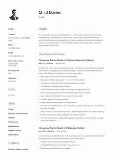 Resume Samples For Teacher Teacher Resume Amp Writing Guide 12 Samples Pdf 2019