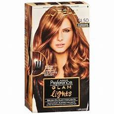 Glam Hair Color Light Brown L Oreal Paris Superior Preference Glam Lights Hair Color