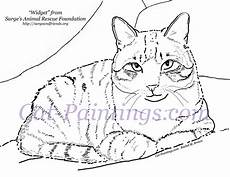 Malvorlage Katze Getigert Free Coloring Page Printout Of Tabby Cat Cat Painting