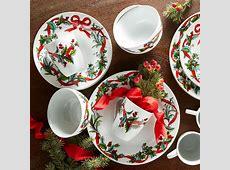 16 Pc. Christmas Dinnerware Set   Plus Size Christmas