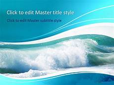 Ppt On Waves Free Dolphin Ppt Template