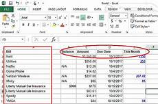 How To Make A Budget Sheet On Excel Make A Personal Budget On Excel In 4 Easy Steps
