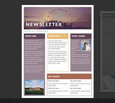 Microsoft Office Newsletter Template Free Printable Newsletter Templates For Microsoft Word