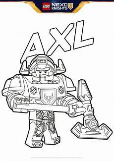 Lego Nexo Knights Ausmalbilder Axl Axl Coloring Pages Lego 174 Nexo Knights Lego Us