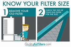 Round Air Filter Size Chart Air Filter Size