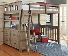 kenwood size loft in driftwood furniture in