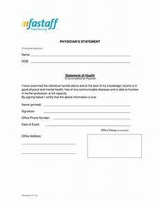 Doctors Statement 12 Official Statement Letter Format Examples Pdf Doc