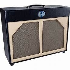 65s 2x12 guitar speaker cabinet blue line black