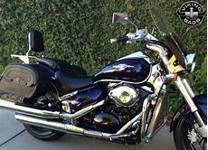 Suzuki Boulevard M50 Motorcycle Saddlebags Marauder