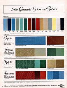 1958 Impala Color Chart 1966 Impala Specs Colors Facts History And Performance