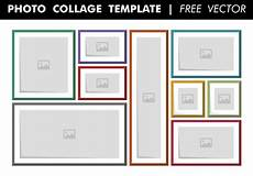 Picture Collage Templates Free Download Photo Collage Template Free Vector Download Free Vectors