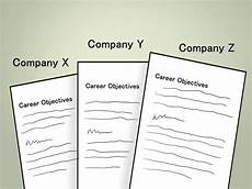 Writing Career Objectives How To Write A Career Objective 7 Steps With Pictures