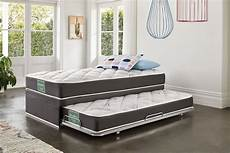 support king single trundle bed by sleepmaker