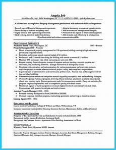 Regional Property Manager Resumes Awesome Writing A Great Assistant Property Manager Resume