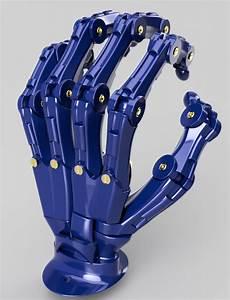 3d Printed Prosthetic Hand Design 3d Printed Bionic Hand Skeleton Robot Hand Prints