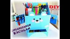 diy organizador diy organizador escolar 2 urso kawaii diy kawaii box