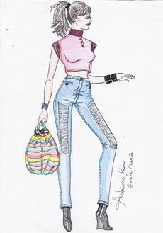 desenho de roupas ser 225 arte julho 2012