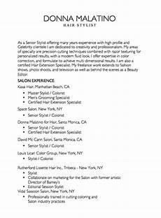 Hair Stylist Resume Templates Resume For Hair Stylist Http Resumesdesign Com Resume