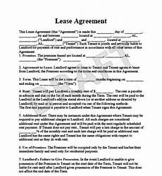 Example Lease Agreement The Advantages You Get By Using A Sample Lease Agreement