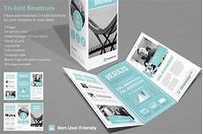 Tri Fold Brochure Powerpoint Template Tri Fold Corporate Brochure Templates Creative Market