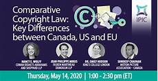 Copyright Law Us Comparative Copyright Law Key Differences Between Canada
