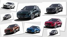 2020 Ford Escape Color Chart All The 2020 Ford Escape Paint And Interior Color Options