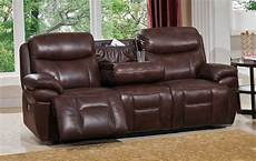 summerlands powered 3pc reclining sofa set in genuine