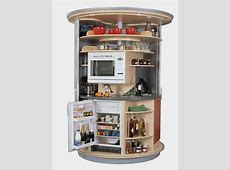Revolving Circle Compact Kitchen   iDesignArch   Interior Design, Architecture & Interior