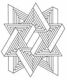 Coloring Geometric Pages Get This Geometric Coloring Pages To Print Out 36712