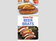 Easy Stovetop Beer Brats   Pear Tree Kitchen