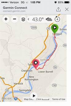 Butler Freeport Trail Mileage Chart Freeport Rail Trail Ride April 2015