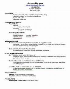 How To Create A Proper Resume How To Make A Good Resume