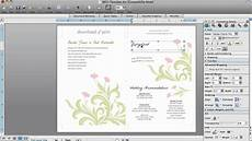 How To Make Invitations On Microsoft Word How To Make Wedding Invitations In Microsoft Word Youtube