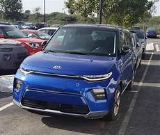 Kia Electric 2020 by All New 2020 Kia Soul Electric Spotted In New Colors