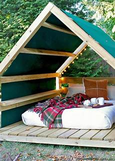 diy outdoor cabanas add a quot resort quot to your