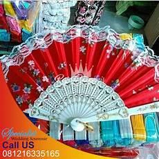 souvenir kipas saten murah raja souvenir surabaya