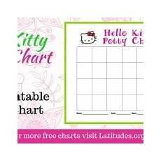 Hello Kitty Potty Training Chart Free Feelings Chart Draw How You Feel Today Cute