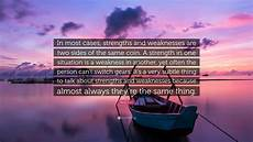 Strengths In A Person Steve Jobs Quote In Most Cases Strengths And Weaknesses