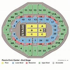 Peoria Civic Center Seating Chart Peoria Civic Center Concert Calendar Right Here Tba