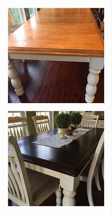 general finishes java gel stain our dining room table