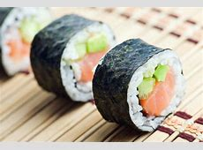 Impressive Homemade Sushi Recipe: Hand Rolled Salmon