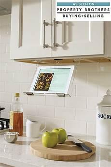 tablet holder cabinetry