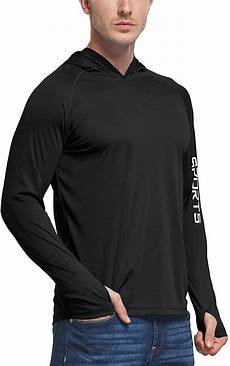 baleaf mens upf 50 sleeve pouch baleaf s upf 50 sun protection athletic hoodie