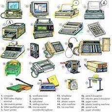List Office Equipment Office Equipment Vocabulary English Lesson
