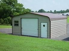 22 X 31 X 9 Regular Roof Eco Friendly Steel Carport