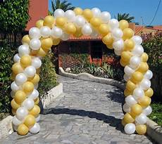 arco de globos arco de globos bicolor con tul www paradaobligada es